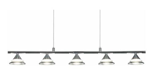 Artef colgar LEDs   5x  3,0W Trieste lineal