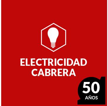 BIENVENIDOS A ELECTRICIDAD CABRERA